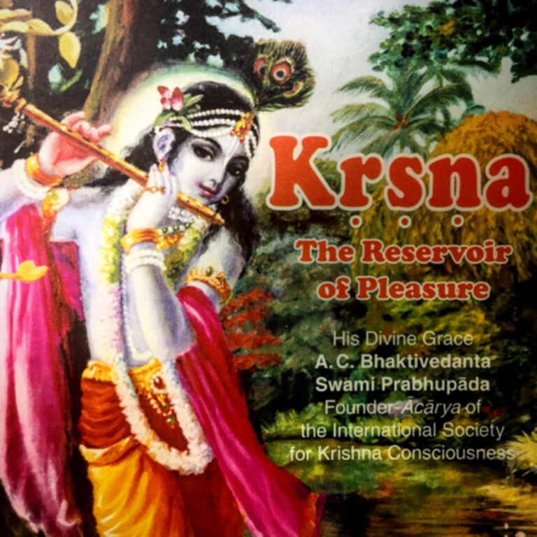 """147 – The Ever Present Companion (""""Kṛṣṇa, the Reservoir of Pleasure"""" pages 1-6)"""