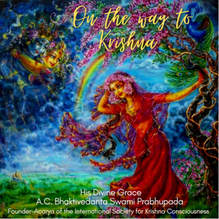"""153 – The Real Enjoyer of Happiness (""""On The Way to Krishna"""" pages 1-7)"""